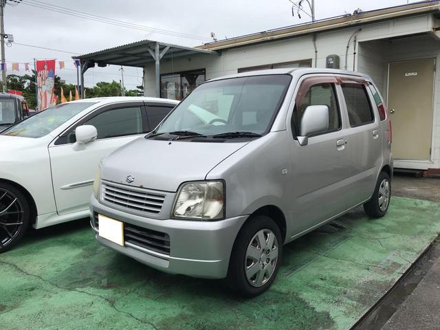 沖縄市 オートプラザ Step スズキ ワゴンR 現状販売 シルバー 19.2万km 2003(平成15)年