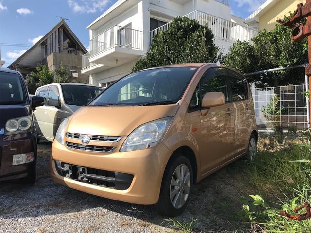 沖縄の中古車 ダイハツ ムーヴ 車両価格 5万円 リ済込 2006(平成18)年 13.7万km オレンジ