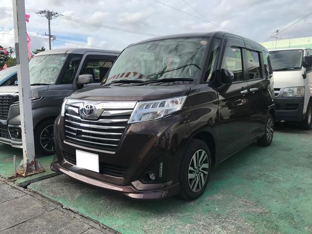 沖縄県の中古車ならルーミー カスタムG S TVナビ ABS パワーステアリング パワーウィンドウ アルミ