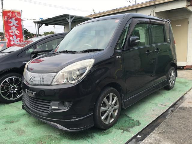 沖縄の中古車 スズキ ソリオ 車両価格 15万円 リ未 2012(平成24)年 12.2万km ブラック