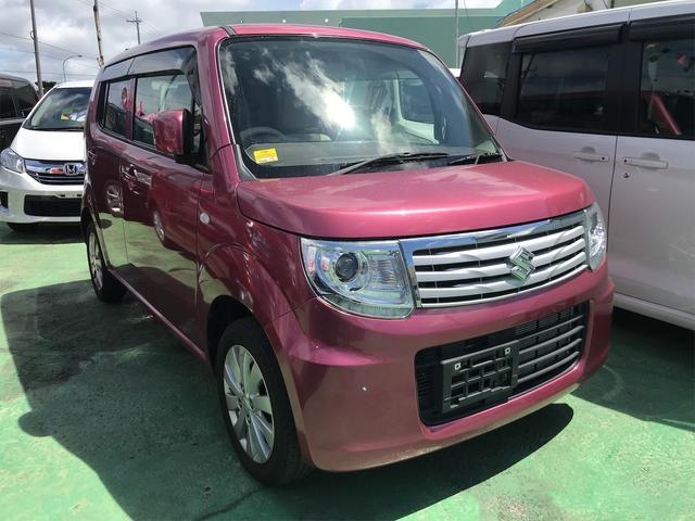 沖縄県の中古車ならMRワゴンWit LS 社外ナビ TV  プッシュスタート スマートキー Wエアバック アイドリングストップ フルフラット