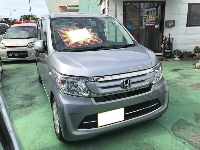 沖縄県の中古車ならN-WGN G プッシュスタート スマートキー ETC アイドリングストップ Wエアバック CD AUX