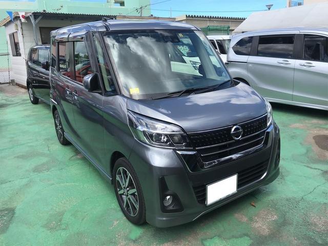 沖縄の中古車 日産 デイズルークス 車両価格 108万円 リ済込 2018(平成30)年 2.8万km グレー