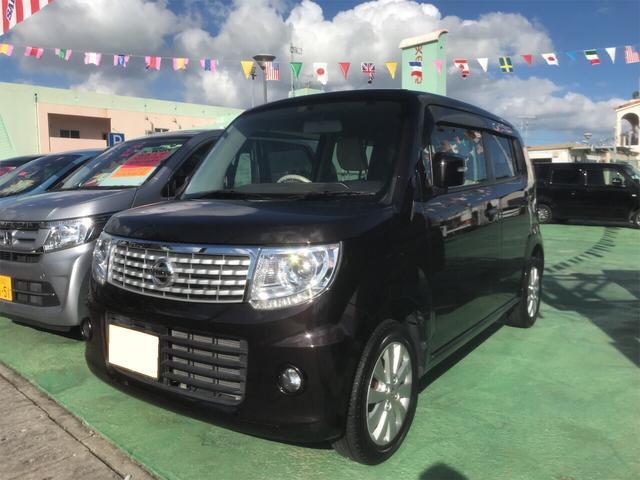 沖縄の中古車 日産 モコ 車両価格 78万円 リ済込 2015(平成27)年 3.8万km ブラウン