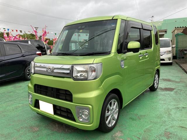 沖縄の中古車 ダイハツ ウェイク 車両価格 114万円 リ済込 2018(平成30)年 4.2万km Lグリーン