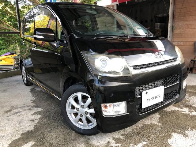 沖縄の中古車 ダイハツ ムーヴ 車両価格 15万円 リ済込 2008(平成20)年 14.1万km DブラックII