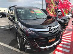 沖縄の中古車 マツダ ビアンテ 車両価格 59万円 リ済込 平成21年 10.9万K ブラックM