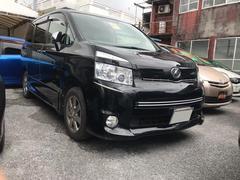 沖縄の中古車 トヨタ ヴォクシー 車両価格 88万円 リ済込 平成21年 9.1万K ブラックM