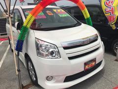 沖縄の中古車 トヨタ ノア 車両価格 88万円 リ済込 平成22年 9.6万K パールホワイト