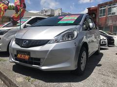 沖縄の中古車 ホンダ フィット 車両価格 49万円 リ済込 平成23年 4.1万K シルバー