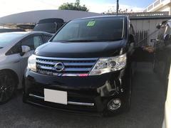 沖縄の中古車 日産 セレナ 車両価格 85万円 リ済込 平成22年 9.4万K ブラック