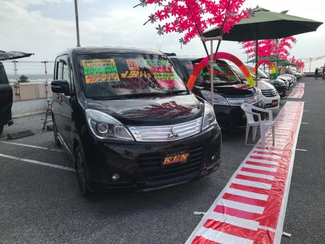 沖縄の中古車 三菱 デリカD:2 車両価格 65万円 リ済込 2014(平成26)年 7.1万km ブラウン