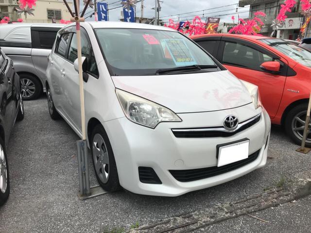 沖縄の中古車 トヨタ ラクティス 車両価格 43万円 リ済込 2011(平成23)年 7.2万km パール