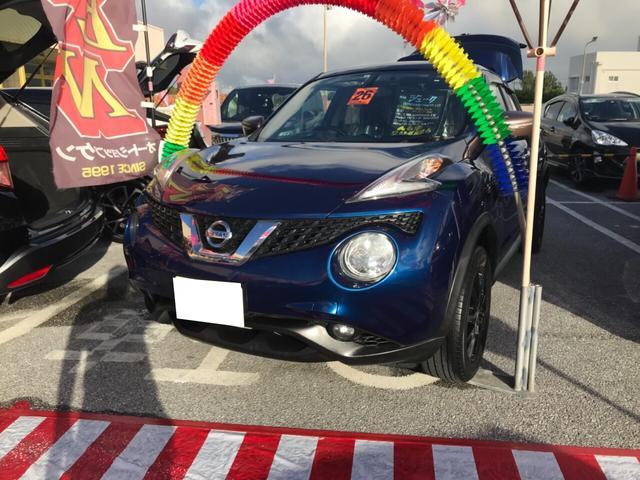 沖縄県の中古車ならジューク 15RX 80thスペシャルカラーリミテッド