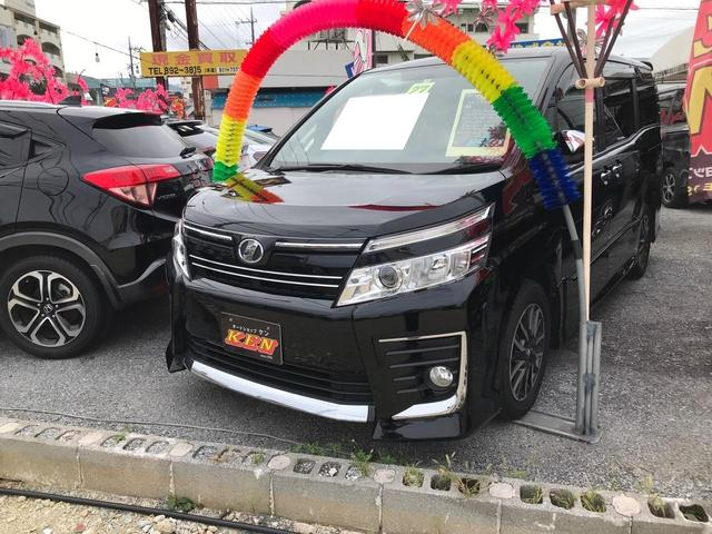 沖縄県の中古車ならヴォクシー ZS 煌