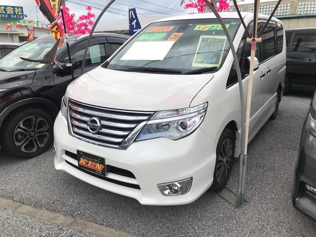 沖縄県の中古車ならセレナ ハイウェイスター S-ハイブリッド