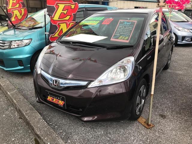 沖縄県宜野湾市の中古車ならフィットハイブリッド スマートセレクション ファインスタイル