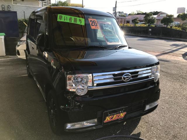 沖縄の中古車 ダイハツ ムーヴコンテ 車両価格 49万円 リ済込 2014(平成26)年 7.8万km ブラック