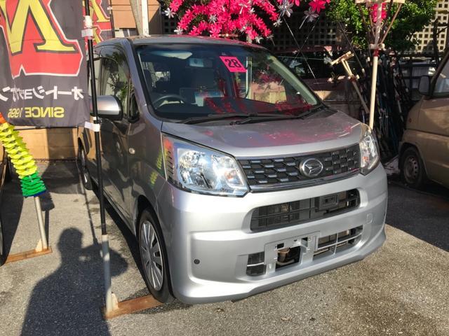 沖縄の中古車 ダイハツ ムーヴ 車両価格 49万円 リ済込 2016(平成28)年 9.5万km シルバー
