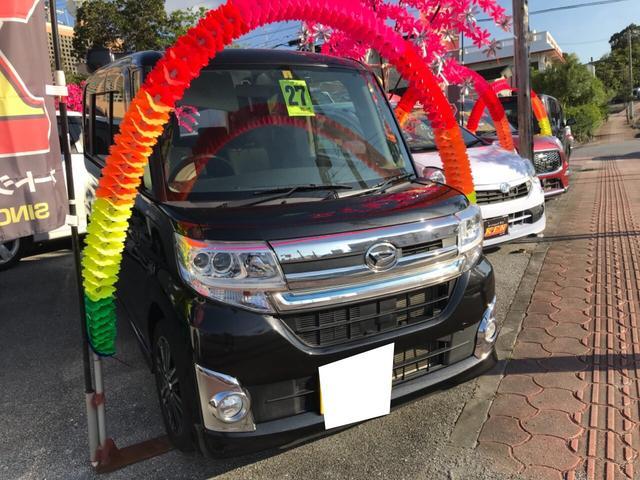 沖縄県宜野湾市の中古車ならタント カスタムRS
