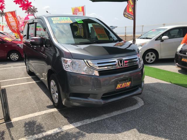 沖縄の中古車 ホンダ ステップワゴン 車両価格 75万円 リ済込 2012(平成24)年 8.5万km グレー