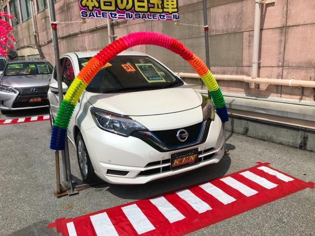沖縄の中古車 日産 ノート 車両価格 99万円 リ済込 2019(平成31)年 4.0万km パール