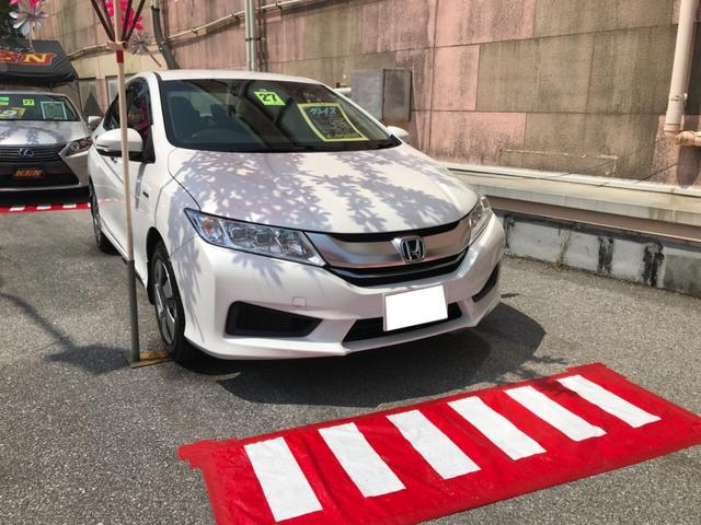 沖縄の中古車 ホンダ グレイス 車両価格 82万円 リ済込 2015(平成27)年 2.8万km パールホワイト