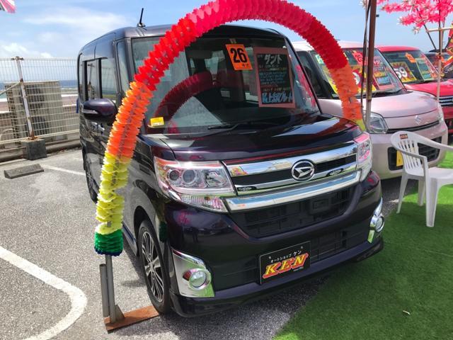沖縄県の中古車ならタント カスタムRS SA
