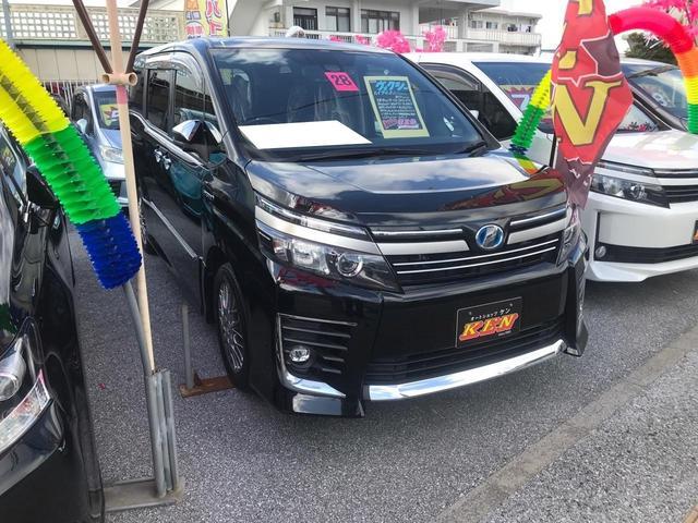 沖縄県の中古車ならヴォクシー ハイブリッドZS 煌II