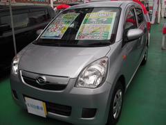 沖縄の中古車 ダイハツ ミラ 車両価格 59万円 リ済込 平成24年 6.7万K シルバー