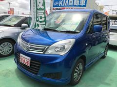 沖縄の中古車 スズキ ソリオ 車両価格 89万円 リ済込 平成26年 6.3万K ブルー