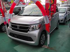 沖縄の中古車 ホンダ N−WGN 車両価格 89万円 リ済込 平成27年 4.7万K シルバー