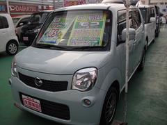沖縄の中古車 日産 モコ 車両価格 79万円 リ済込 平成25年 4.9万K ライトブルーM