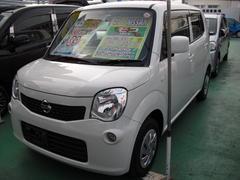 沖縄の中古車 日産 モコ 車両価格 84万円 リ済込 平成27年 6.6万K パール