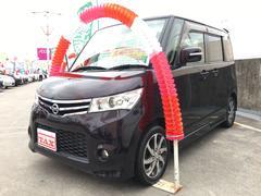 沖縄の中古車 日産 ルークス 車両価格 90万円 リ済込 平成24年 5.3万K ダークパープル