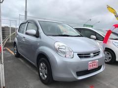 沖縄の中古車 トヨタ パッソ 車両価格 62万円 リ済込 平成25年 5.8万K シルバー