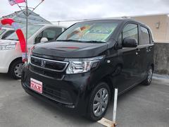 沖縄の中古車 ホンダ N−WGN 車両価格 90万円 リ済込 平成26年 2.4万K ブラック