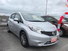 沖縄の中古車 日産 ノート 車両価格 82万円 リ済込 平成26年 7.0万K シルバー