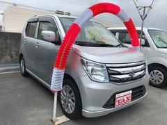 沖縄の中古車 スズキ ワゴンR 車両価格 93万円 リ済込 平成26年 8.1万K シルバー
