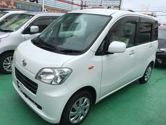 沖縄の中古車 ダイハツ タントエグゼ 車両価格 64万円 リ済込 平成23年 7.7万K パール