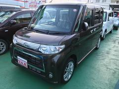 沖縄の中古車 ダイハツ タント 車両価格 85万円 リ済込 平成24年 5.9万K グリーンM
