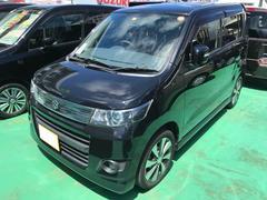 沖縄の中古車 スズキ ワゴンRスティングレー 車両価格 74万円 リ済込 平成24年 7.7万K ガンM