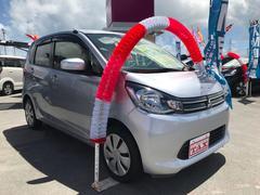 eKワゴンM 軽自動車 インパネAT 保証付 エアコン 4名乗り