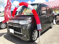 沖縄の中古車 ダイハツ タント 車両価格 90万円 リ済込 平成23年 6.9万K ブロンズオリーブパールメタリック