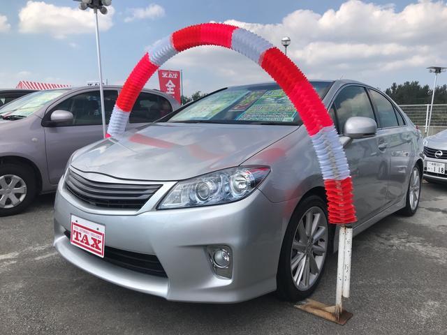 沖縄県の中古車ならSAI S フルセグTVナビ 24ヶ月保証