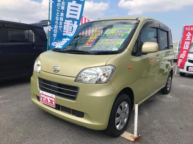 沖縄の中古車 ダイハツ タントエグゼ 車両価格 60万円 リ済込 平成22年 6.5万km ゴールド