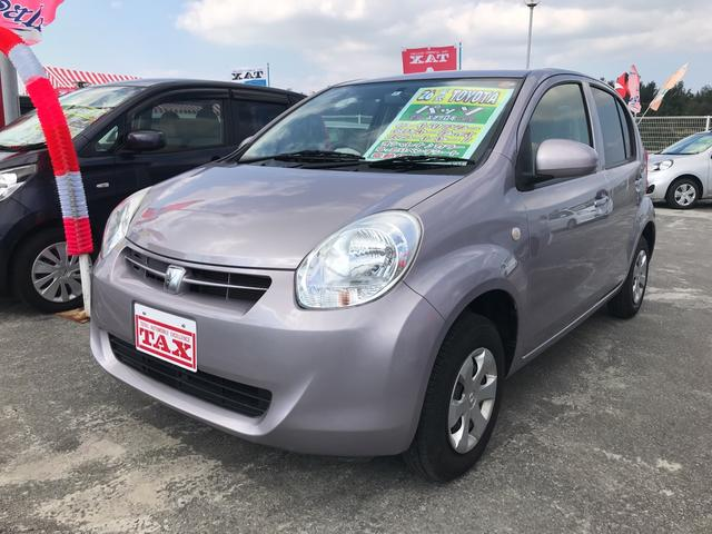 沖縄の中古車 トヨタ パッソ 車両価格 68万円 リ済込 平成26年 7.7万km ライトパープル