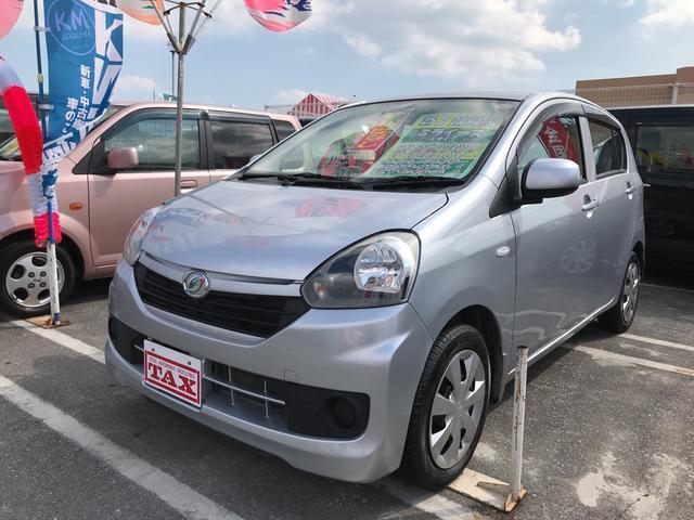 沖縄の中古車 ダイハツ ミライース 車両価格 63万円 リ済込 平成25年 5.2万km シルバー