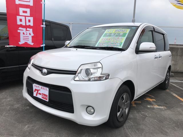 沖縄の中古車 トヨタ シエンタ 車両価格 92万円 リ済込 平成24年 4.0万km パールホワイト