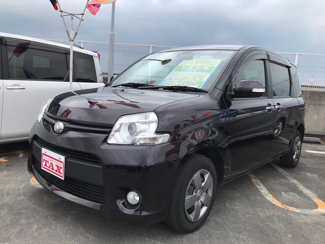 沖縄の中古車 トヨタ シエンタ 車両価格 92万円 リ済込 平成24年 7.3万km ワインM